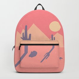 Vintage Desert Cutout Backpack