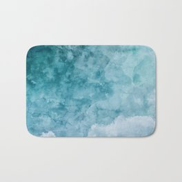 Over The Clouds Bath Mat