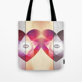Tri-Color Jewish Star Of Protection Tote Bag