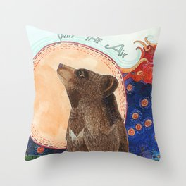 Sniff the Air Throw Pillow