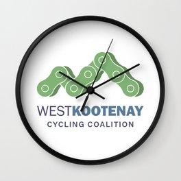 WKCC Logo Wall Clock