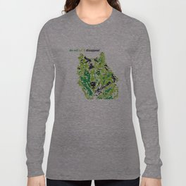 Wolf - do not let it disappear Long Sleeve T-shirt