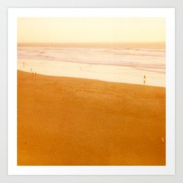 Ocean Beach, Warm Art Print