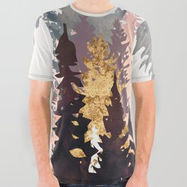 Wine Forest All Over Graphic Tee