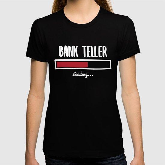 Funny Bank Teller Design by shirtasm