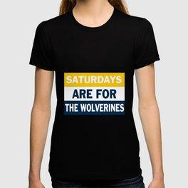 Michigan Saturdays T-shirt