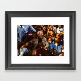 T O T H E R E P U B L I C Framed Art Print