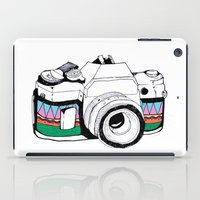 camera iPad Cases featuring Camera by Mariam Tronchoni
