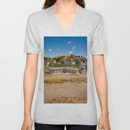 Seafront Cafe Unisex V-Neck