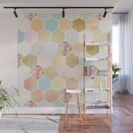 Honey Dripper Wall Mural
