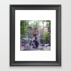 ...because the past can't be a rusty old bludgeon. Framed Art Print
