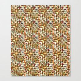 Geometric Quilt Canvas Print