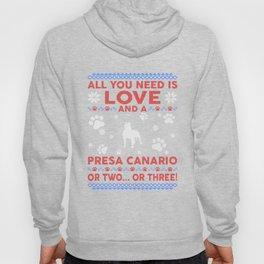 Presa Canario Ugly Christmas Sweater Hoody