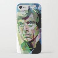 luke hemmings iPhone & iPod Cases featuring Luke by iankingart