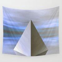 pyramid Wall Tapestries featuring Pyramid Fantasy by J&C Creations
