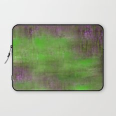 Green Color Fog Laptop Sleeve