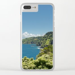 Highway to Heaven Clear iPhone Case