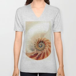 Shell of life Unisex V-Neck