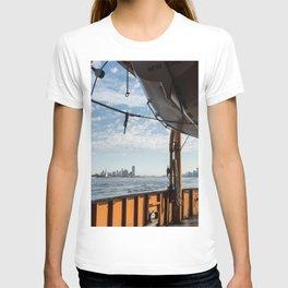 Staten Island Ferry & Lifeboat T-shirt