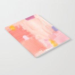 Put Sorrows In A Jar - abstract modern art minimal painting nursery Notebook