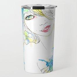 Paper Doll #2 Travel Mug
