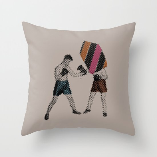 Mixed Martial Art Throw Pillow