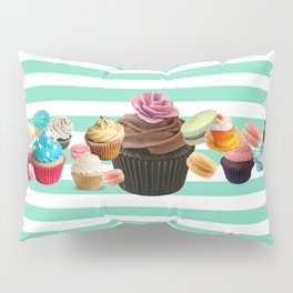 snack time hey! are not you hungry? Pillow Sham