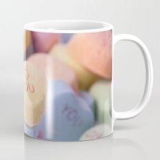 I Love You - Candy Hearts Mug