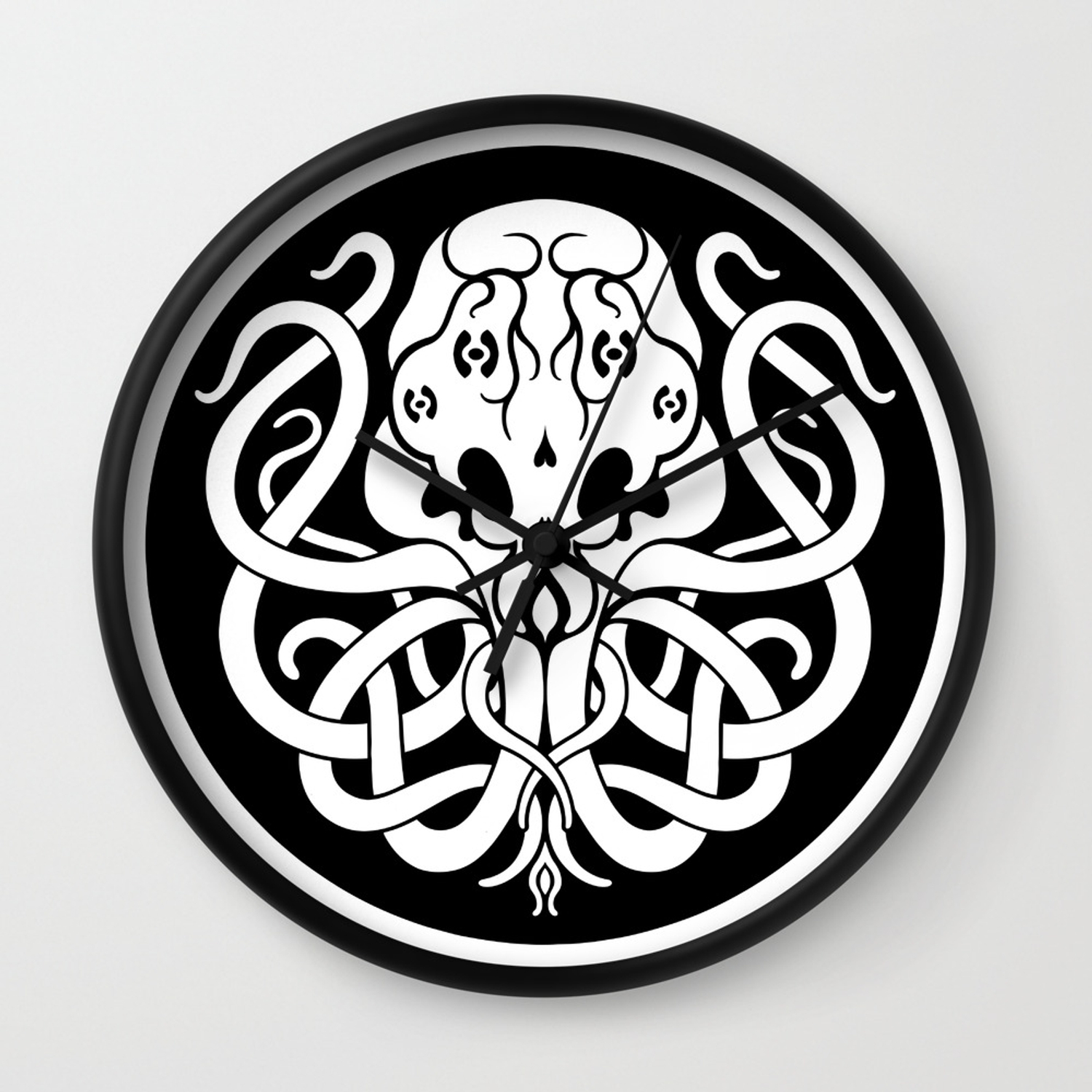 Cthulhu Symbol Wall Clock By Beerymethod Society6 The brainchild of famed 1920s author, hp lovecraft, these symbols depicted different gods, creatures, and other flights of fantasies created by. cthulhu symbol wall clock by beerymethod