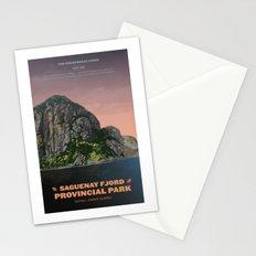 Saguenay Fjord Provincial Park Stationery Cards