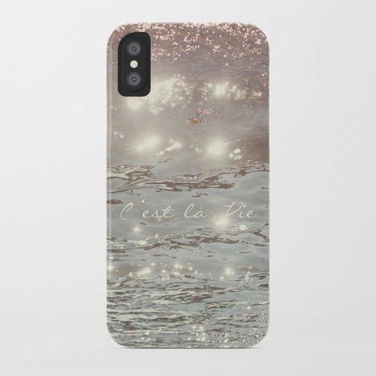 C'est La Vie II iPhone Case