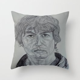 As My Guitar Gently Weeps Throw Pillow