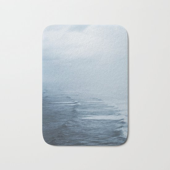 Storms over the Pacific Ocean Bath Mat