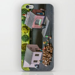 The Little Millers Coffee Corporation iPhone Skin