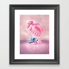 Be All Heart Framed Art Print
