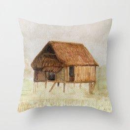 Thai House Throw Pillow