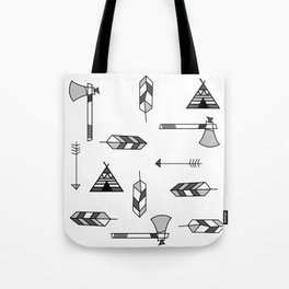 Pattern: Indian icon Tote Bag