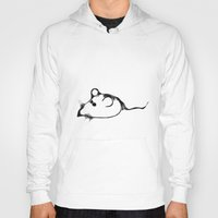 mouse Hoodies featuring MOUSE by eginta