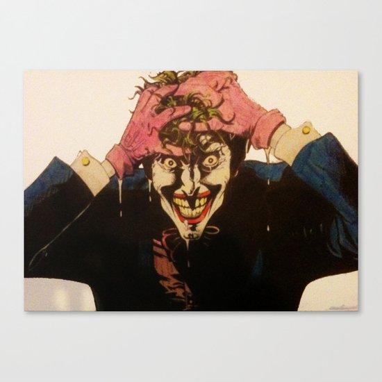 Joker HAHAHA Canvas Print