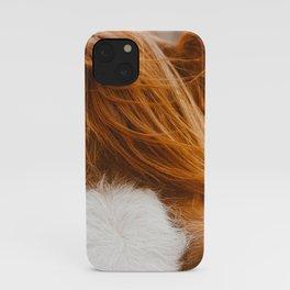 horse bangs iPhone Case