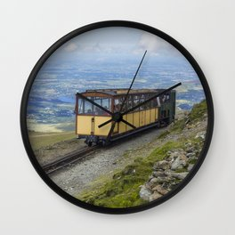 Train To Snowdon Wall Clock