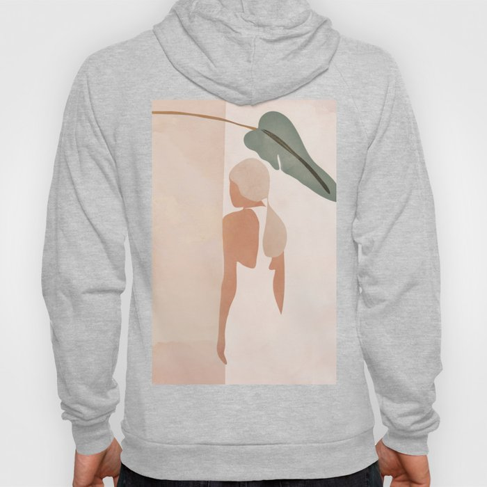 Abstract Woman in a Dress Hoody