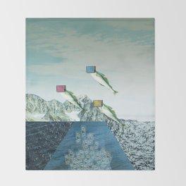atmosphere 38 · Flying Fish Bowl Throw Blanket