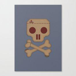 Paper Pirate Canvas Print