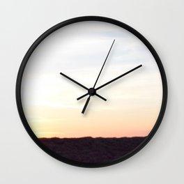 Twilight Silhouette Wall Clock