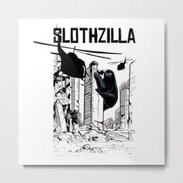 Slotzilla City Attack Metal Print