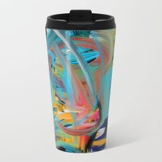 The Storm Abstract Expressionism Art Metal Travel Mug