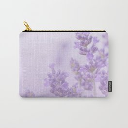 Lovely Lavenders Pastel Purple Background #decor #society6 #buyart Carry-All Pouch