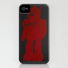 red robot Slim Case iPhone (4, 4s)