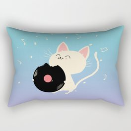 I can't get nooooo catisfaction Rectangular Pillow